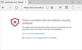 1 de cada 5 páginas web utiliza certificados vulnerables