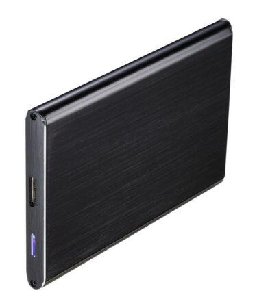 """TooQ TQE-2529B caja HD 2.5"""" SATA3 USB 3.0 Negra"""