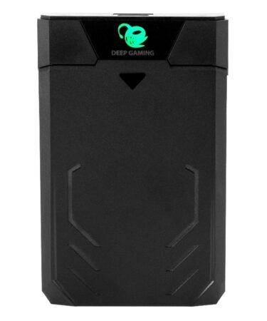 "CoolBox CAJA HDD 2.5"" GAMING DEEPCASE NEGRO USB3.0"