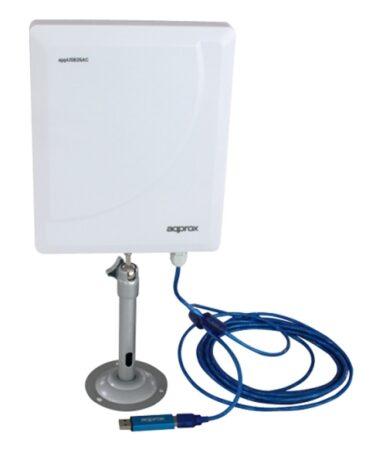 approx APPUSB26AC Antena Direccional 26dBi USB