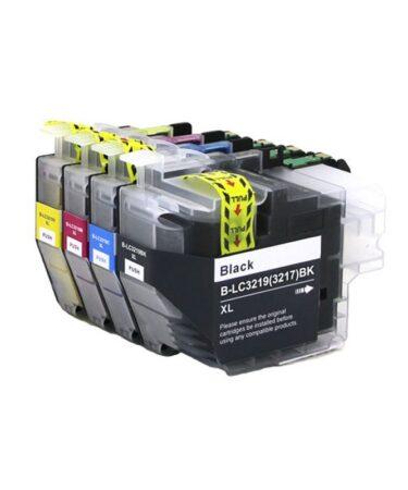 INKOEM Cartucho Compatible Brother LC3219XL Amar