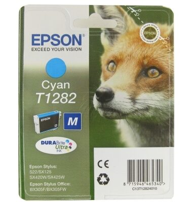 Epson Cartucho T1282 Cian