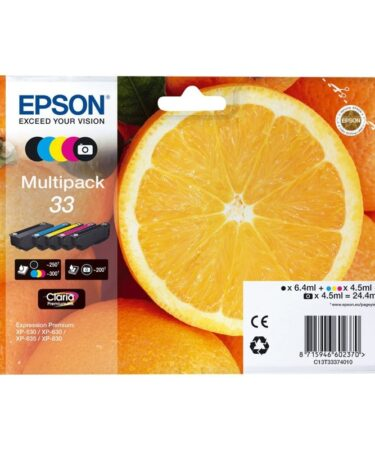 Epson Cartucho Multipack T33
