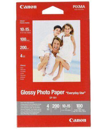 CANON Papel Glossy Photo 10x15(100hojas)