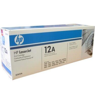 HP 12A (Q2612a) tóner  Laserjet negro 2.000 pag.