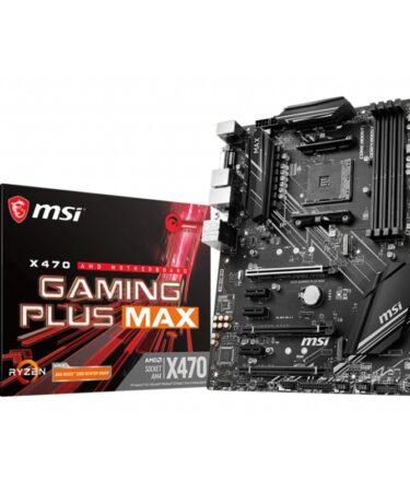 MSI Placa Base X470 GAMING PLUS MAX ATX AM4