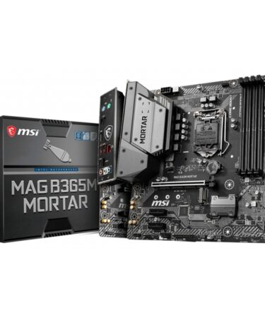 MSI Placa Base MAG B365M MORTAR mATX LGA1151