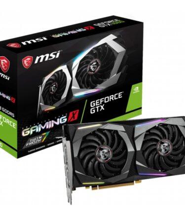 MSI VGA NVIDIA GTX 1660 GAMING X 6GB OC DDR5