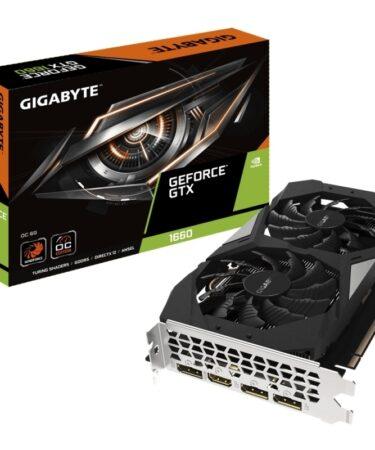 Gigabyte VGA NVIDIA GTX 1660 OC 6GB DDR5