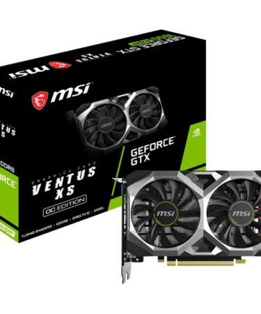 MSI VGA NVIDIA GTX 1650 SUPER VENTUS XS OC DDR6