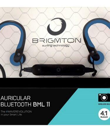 Brigmton Auricular+Mic BML-11-A Bluetooth Azul