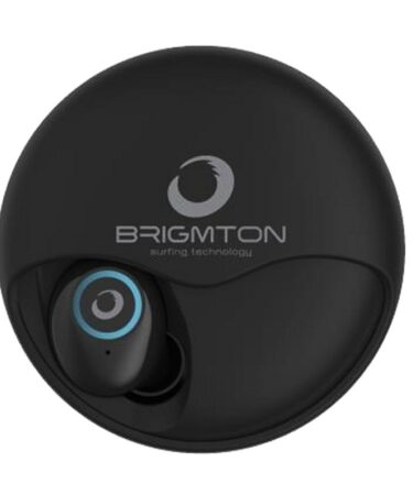 Brigmton Auricular+Mic BML-17-N Bluet+Base Carga N