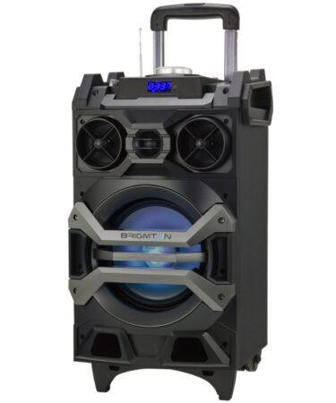 Brimgton ALtavoz portátil Karaoke BAP750 Negro