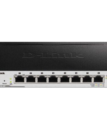 D-Link DGS-1100-08P Switch 8xGB PoE