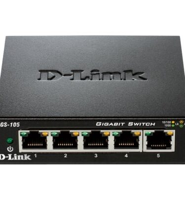 D-Link DGS-105 Switch 5xGB Metal