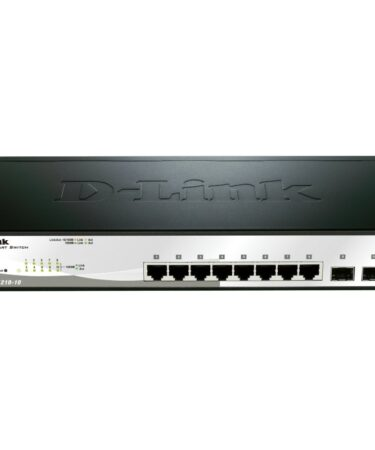 D-Link DGS-1210-10 Switch 8xGB 2xSFP