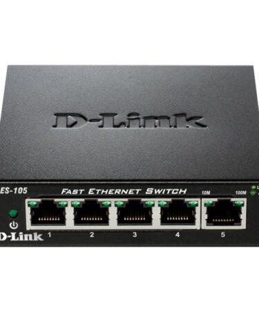 D-Link DES-105 Switch Switch 5x10/100Mbps Metal