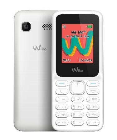 "Wiko Lubi5 Plus Telefono Movil 1.8"" QVGA BT Blanco"