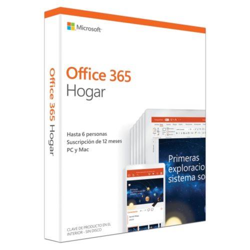Microsoft Office 365 Hogar Subscrip. 5L/1A