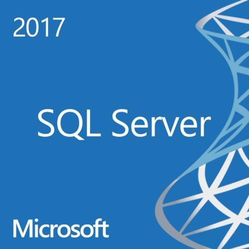 Microsoft SQL Server 2017  CAL 1 usuario