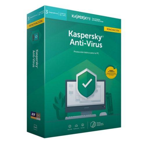 Kaspersky Antivirus 2019 3L/1A RN