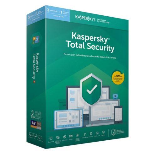 Kaspersky Total Security MD 2019  3L/1A