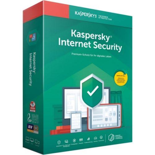 Kaspersky Internet Sec. MD 2019 3L/1A restopolitan