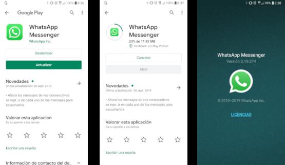 Nueva vulnerabilidad que afecta a algunos usuarios de WhatsApp 2